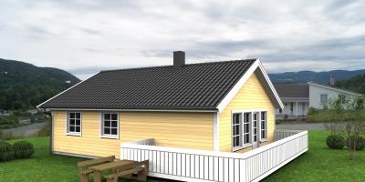 Keipen - Praktisk hus med 2 soverom