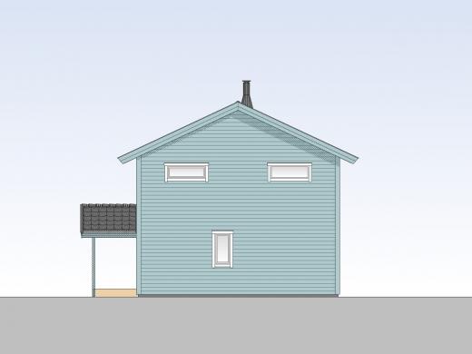 Fasade tegning